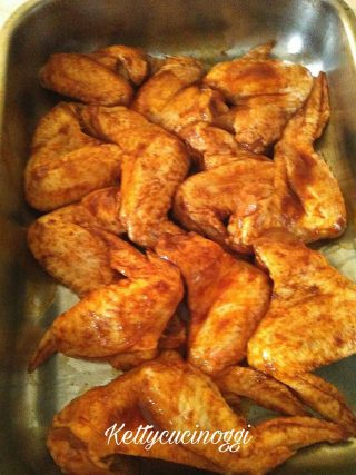Alette di pollo messicane piccanti