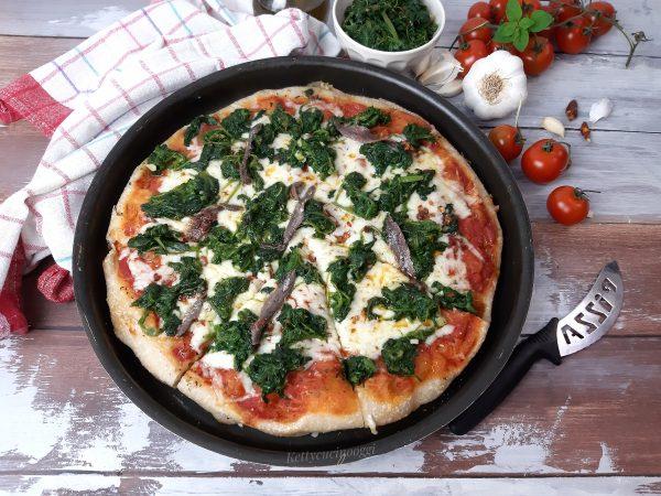 PIZZA CON PASTA : LA RICETTA