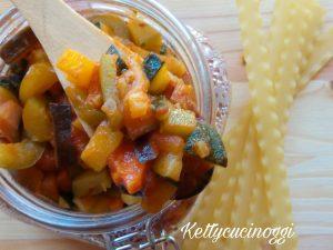 Ragù di verdure fresche