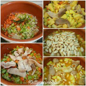 Zuppa cannellini patate e cotiche