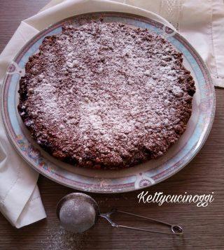 Crostata brisolona cacao e marmellata
