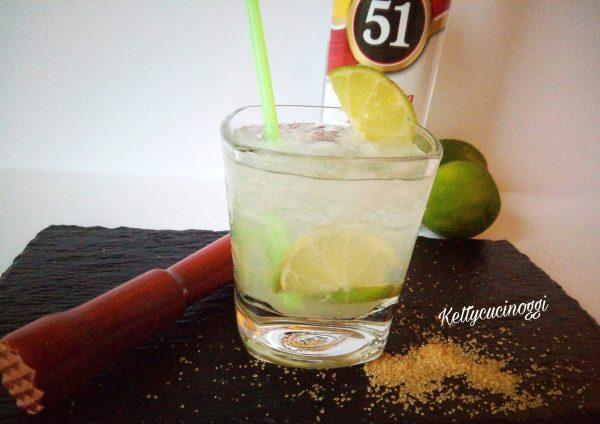 Eccolo qui il nostro <i><b>Cocktail Caipirinha</b></i> bello fresco e pronto per essere bevuto.