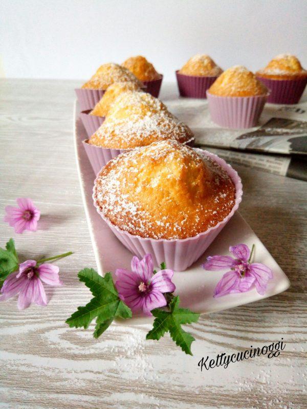 Ecco qui i nostri deliziosi <i><b>Muffin cocco e cioccolato fondente</b></i> una volta pronti, lasciamo raffreddare qualche minuto e poi una spolverata di zucchero a velo e, sono pronti per essere mangiati.