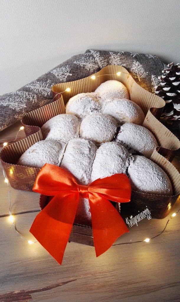 Danubio dolce albero di Natale