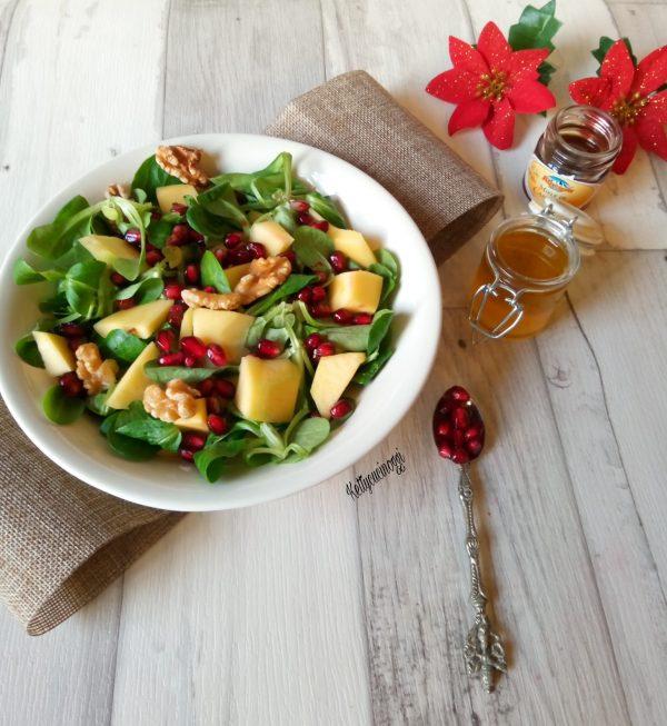Ecco qui la nostra insalata una volta pronta come si presenterà