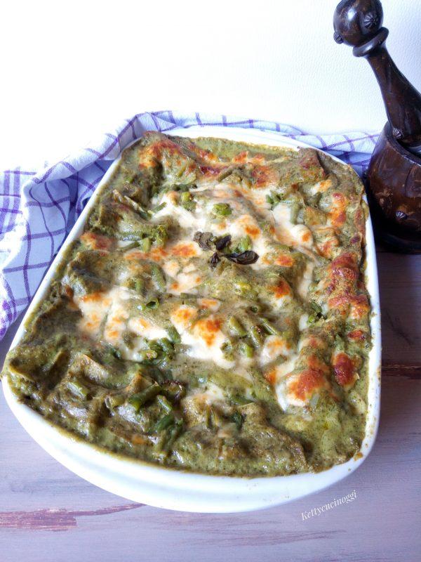 Inforniamo la nostra <b>lasagnetta</b> a 190° gradi per circa 30/35 minuti, fare prova con forchetta per cottura se appoggiandola dentro la sentite morbida è pronta.