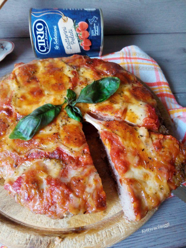 PIZZA DI CARNE AL FORNO
