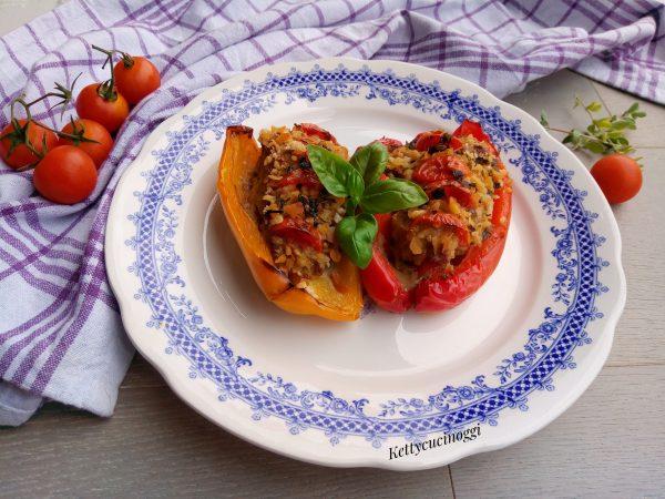 E i nostri <i><b>Peperoni ripieni di carne light</b></i> sono pronti da servire a tavola caldi o tiepidi come più vi aggradano.
