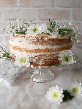 NAKED CAKE ALLA FRUTTA E MASCARPONE
