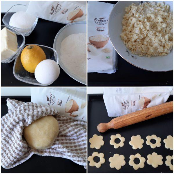 Deve avere uno spessore di 2 cm circa, ricaviamo i biscotti e li stendiamo su una teglia ricoperta da carta forno.