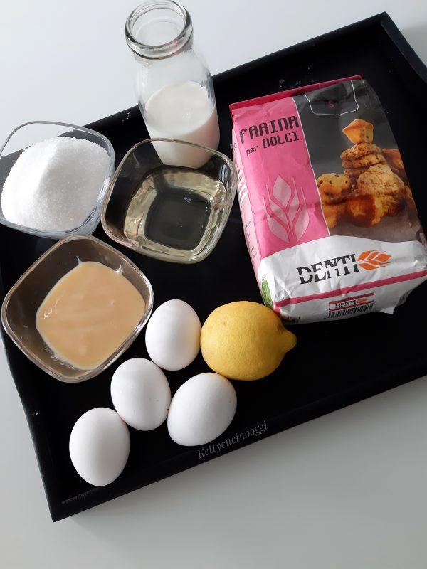 Prepariamo gli ingredienti e preriscaldiamo il forno a 160°