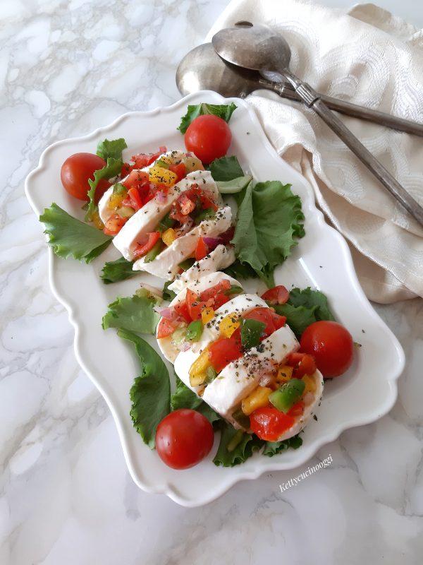 Una volta pronte possiamo portarle a tavola aggiungere un filo di olio evo e servirli con della verdura grigliata oppure con una semplice insalatina.