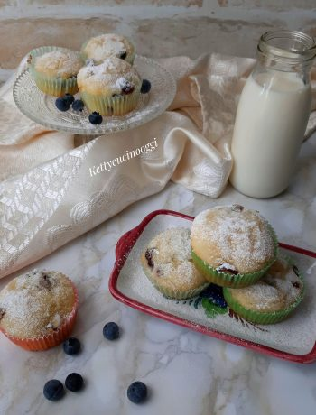 MUFFIN RICOTTA E MIRTILLI