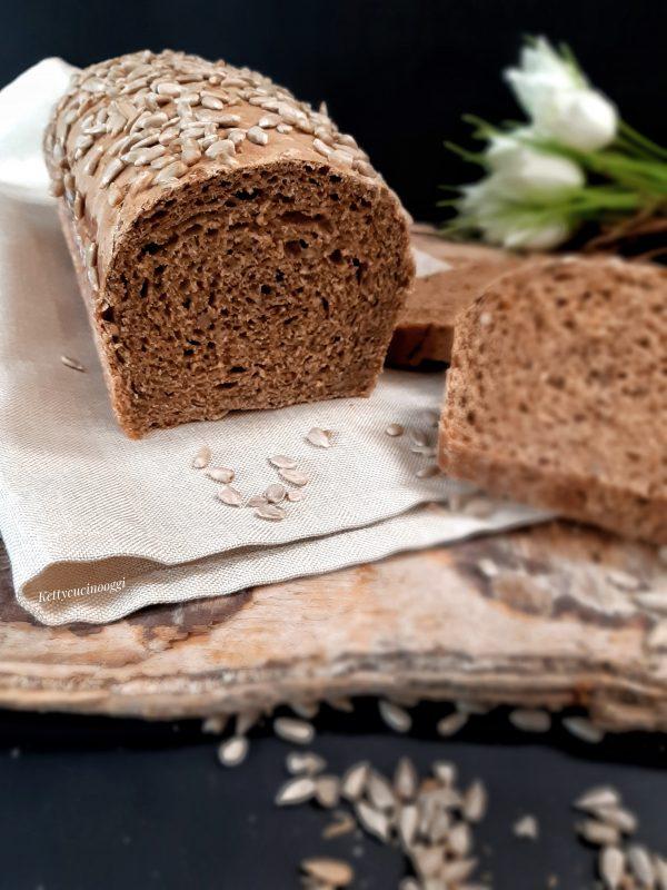 Ecco una volta pronto come si presenterà il nostro pane in cassetta.